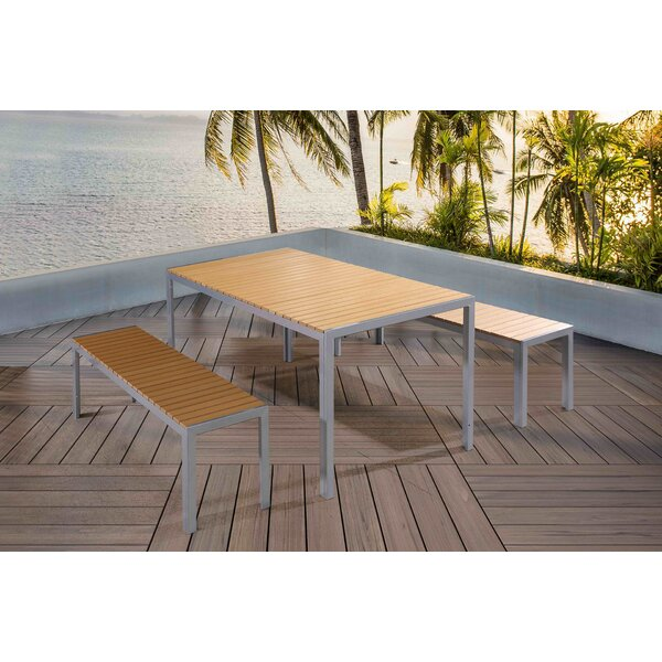 Sonya 3 Piece Dining Set by Wade Logan