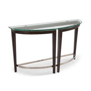 Read Reviews Heslin Demilune Console Table By Brayden Studio