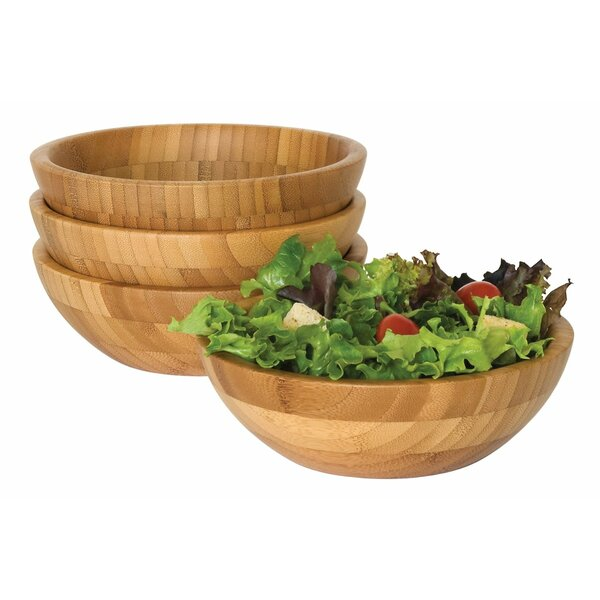 Salad Bowl (Set of 4) by Lipper International