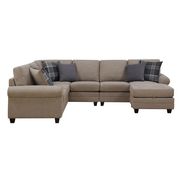 Buse Reversible Sectional with Ottoman by Red Barrel Studio