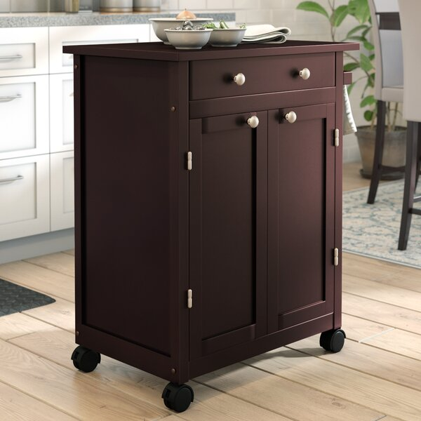 Prasad Kitchen Cart by Andover Mills