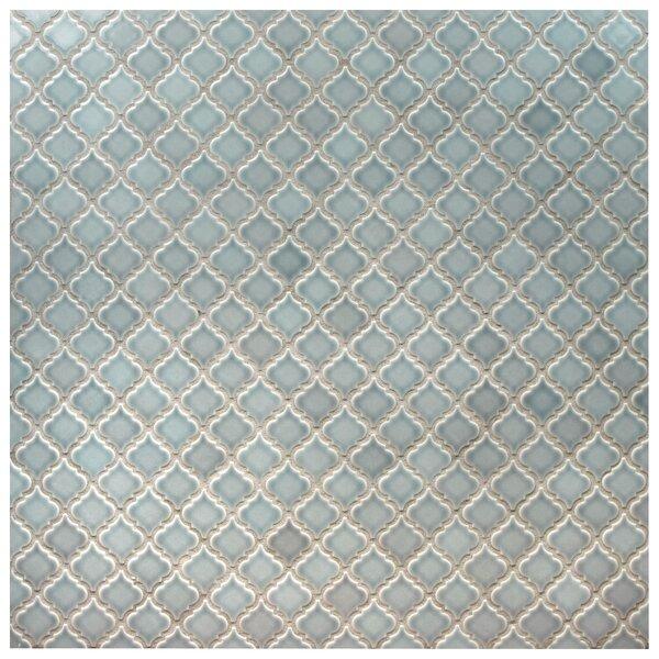Pharsalia 2 x 2.25 Porcelain Mosaic Tile in Gray by EliteTile