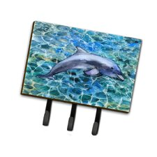 Dolphin Leash or Key Holder by Caroline's Treasures