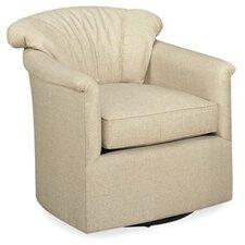 Cavanaville Swivel Glide Cushion Arm Chair by Red Barrel Studio