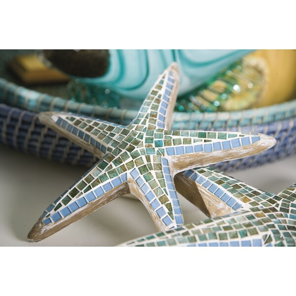 3 Piece Mosaic Star Fish Wall Decor Set by Rosecliff Heights