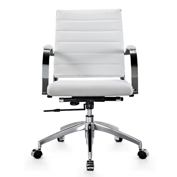 Sweeting Executive Mid Back Office Chair by Orren Ellis