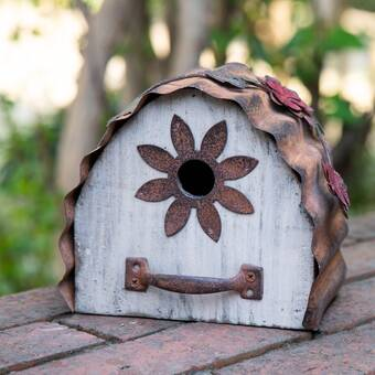 Worth Imports Wooden 9 In X 5 In X 5 In Birdhouse Reviews Wayfair