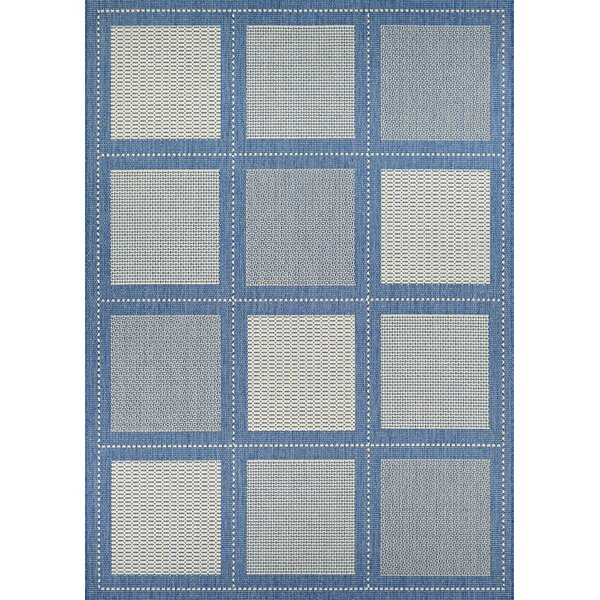 Westlund Blue Indoor/Outdoor Area Rug by Charlton Home