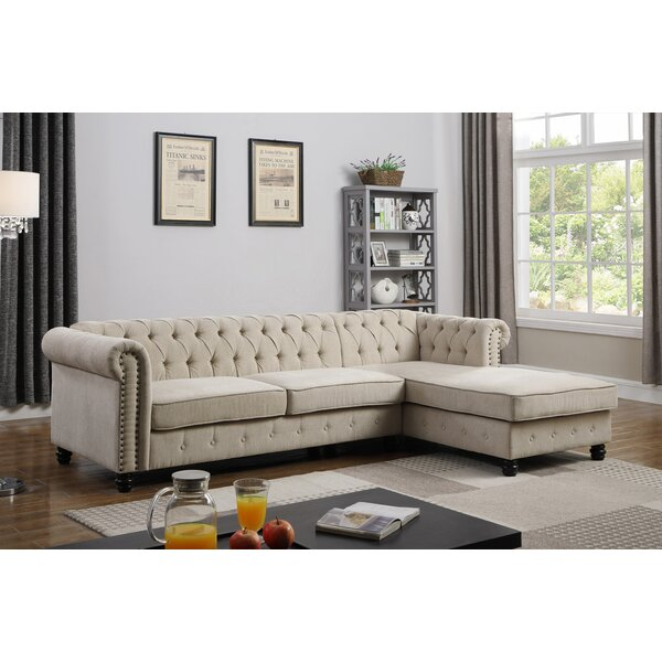 Crelake Sectional by Ophelia & Co.