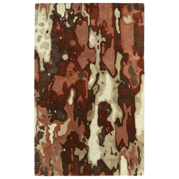 Virginis Red Area Rug by Latitude Run