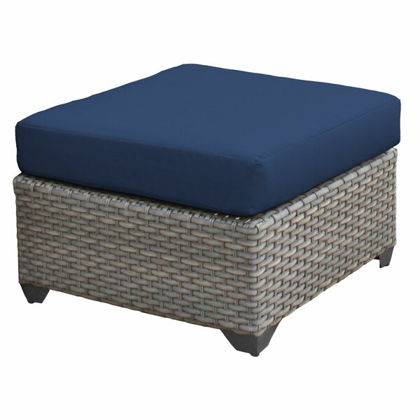 Florence Outdoor Ottoman with Cushion by TK Classics