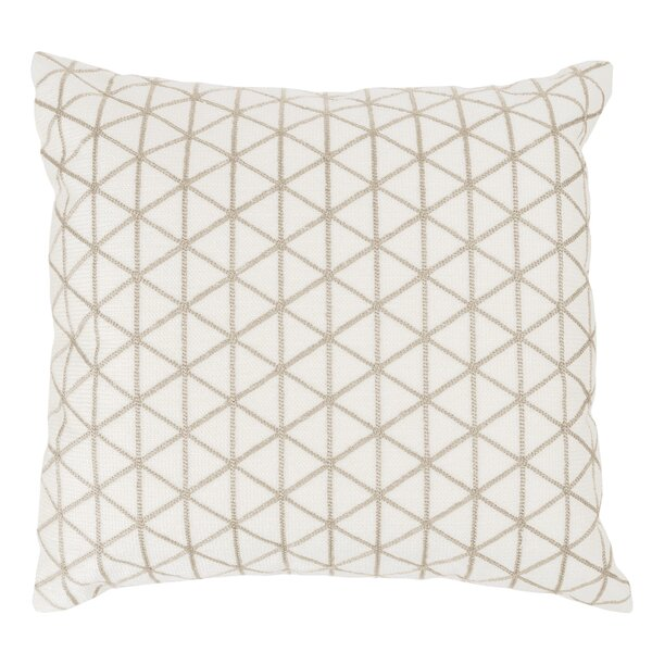 Duy Geometric Triangle Throw Pillow by Gracie Oaks
