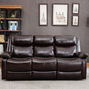 Elona 2 Piece Faux Leather Reclining Living Room Set by Red Barrel Studio®