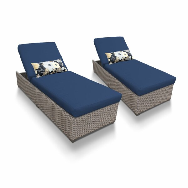 Romford Sun Lounger Set with Cushion (Set of 2) by Sol 72 Outdoor Sol 72 Outdoor