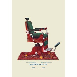 Hydraulic Barber's Chair Graphic Art by Buyenlarge
