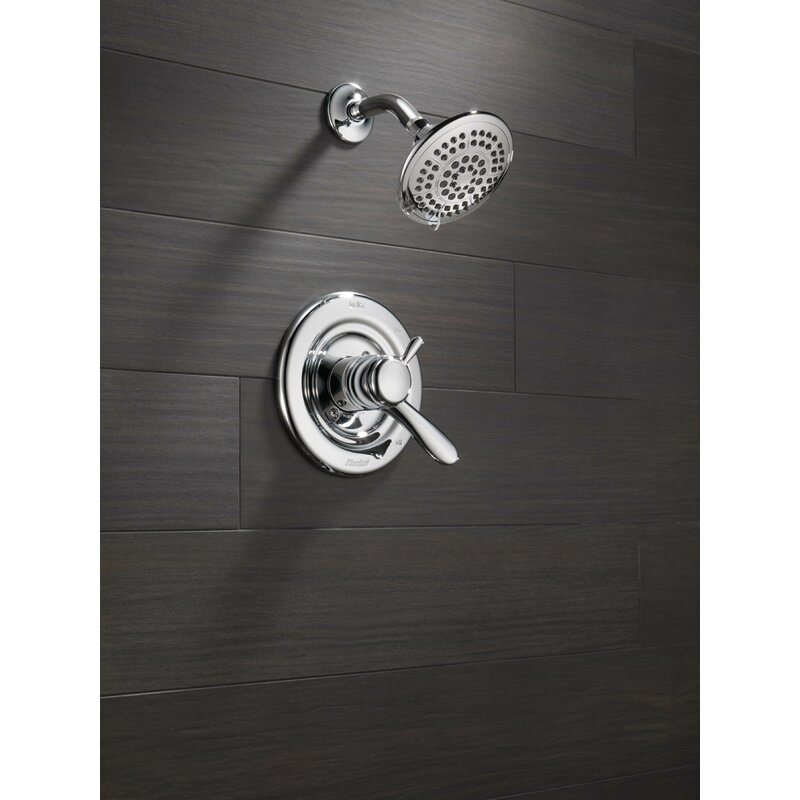 Beau Lahara Shower Faucet Trim With Lever Handles And Monitor