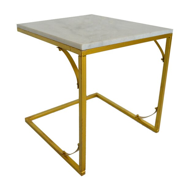 Hamilton End Table by Fox Hill Trading