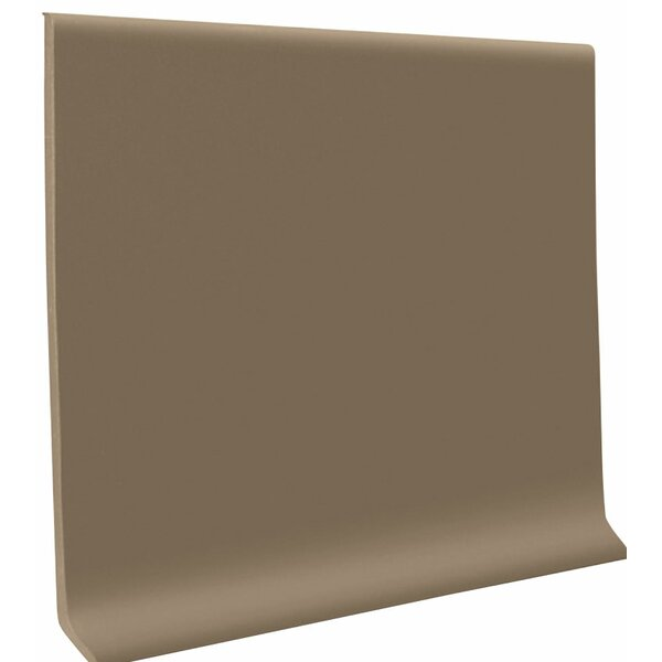 0.13 x 48 x 4 Cove Molding in Fawn (Set of 30) by ROPPE
