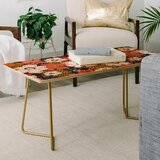 Heather Dutton Petals and Pods Lava Coffee Table by East Urban Home