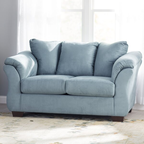 New Trendy Torin Loveseat by Andover Mills by Andover Mills