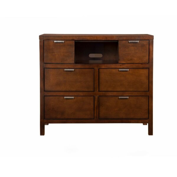 Discount Austermann Suave And Dapper TV 5 Drawer Media Chest