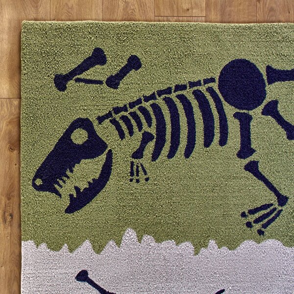 Dig it Yellow & Green Rug by Birch Lane Kids™