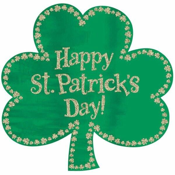 Beige Irish Spirit Patrick/'s Day Fabric by the Yard or Half Yard St