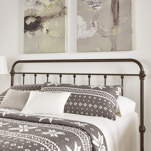 Cavaillon 5 Spindles Metal Twin Slat Headboard by Lark Manor