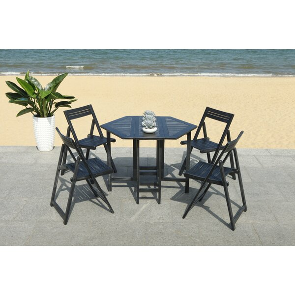 Brunell 5 Piece Dining Set by Winston Porter