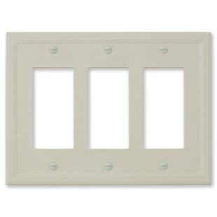 Questech Cornice Insulated Single Decorator Wall Socket Plate Cover