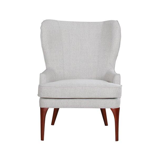 Bolin Wingback Chair by Corrigan Studio