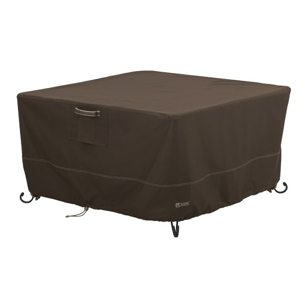 Madrona Rainproof Square Fire Pit Table Cover by Classic Accessories