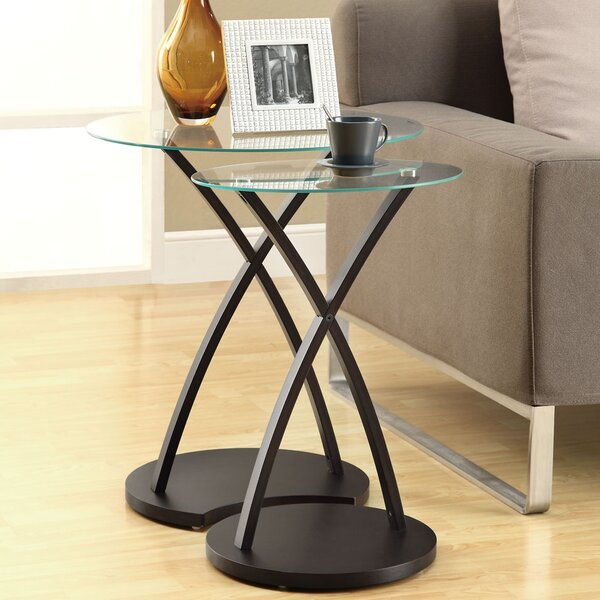 Hort 2 Piece Nesting Tables By Red Barrel Studio