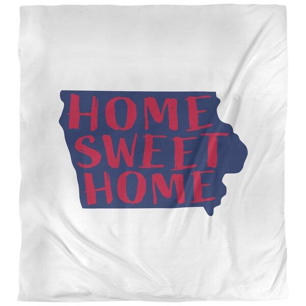 Home Sweet Iowa Duvet Cover