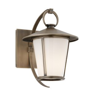 Shop For Val 1-Light Outdoor Wall Lantern By Bloomsbury Market