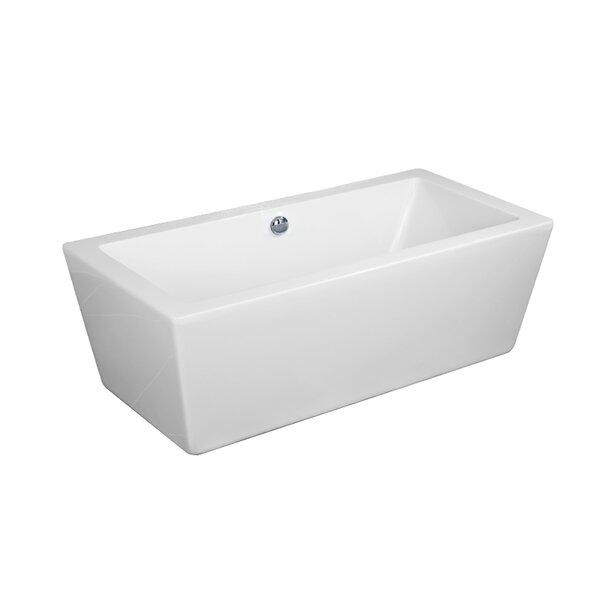 Urbino 32 x 67 Freestanding Soaking Bathtub by Dyconn Faucet