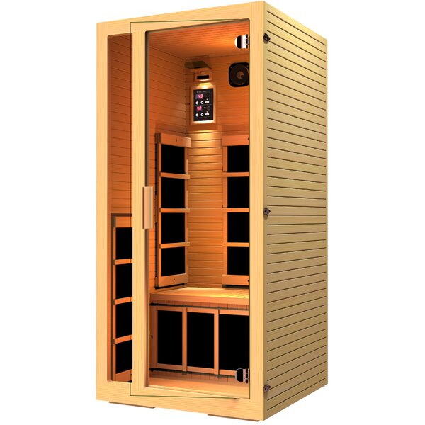 Joyous 1 Person FAR Infrared Sauna by JNH Lifestyles
