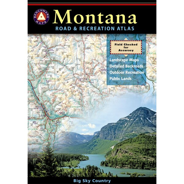 Benchmark Montana Road & Recreation Atlas, 1st Edition by National Geographic Maps