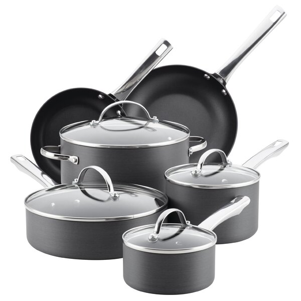 14 Piece Non-Stick Cookware Set by Farberware
