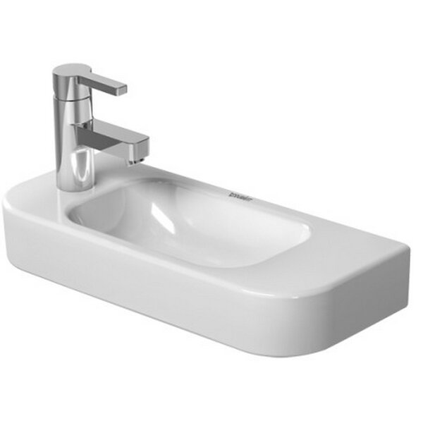 Happy D. Ceramic 20 Wall Mount Bathroom Sink by Duravit