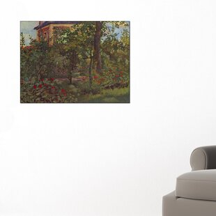 A Corner In The Garden Of Bellevueu0027 By Édouard Manet Painting Print