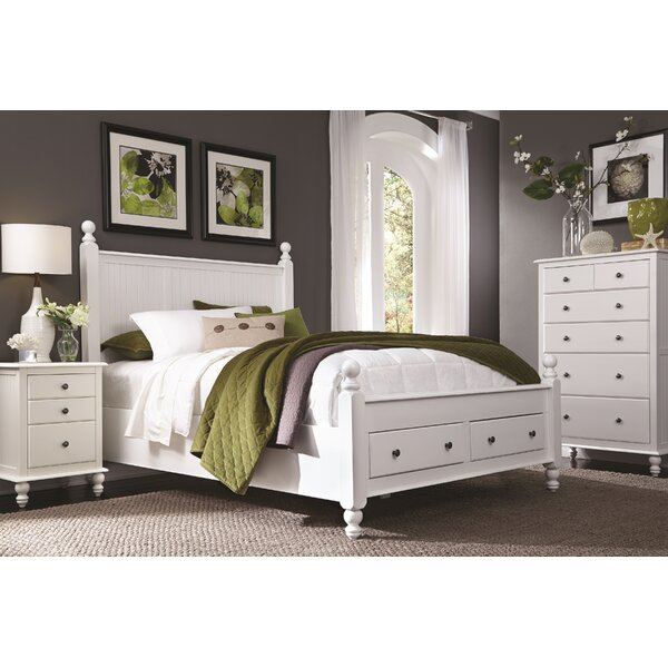 Quahog Panel Bed with Storage by Rosecliff Heights