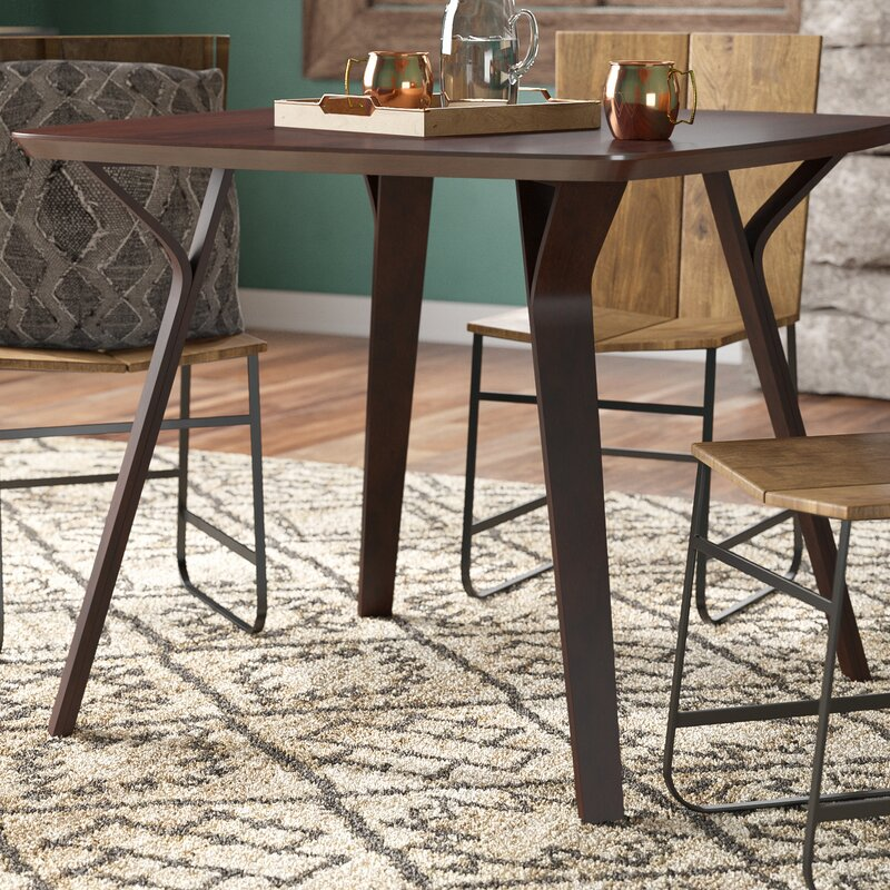 Thornton MidCentury Modern Dining Table Reviews AllModern - Mid mod dining table