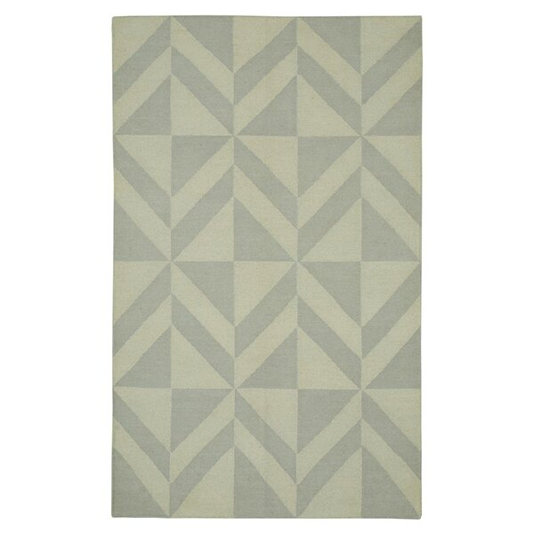 Hand-Woven Light Gray Area Rug by The Conestoga Trading Co.