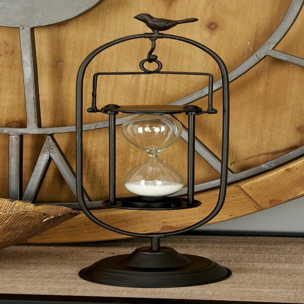 Metal Minute Hourglass by Cole & Grey