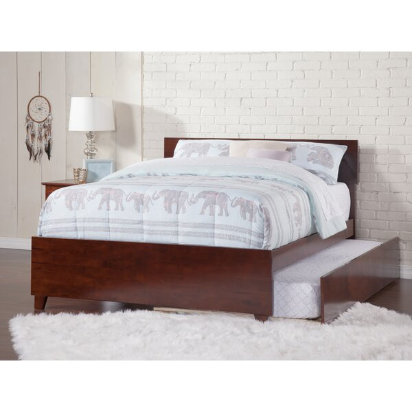 Mathias Full Platform Bed with Trundle by Red Barrel Studio