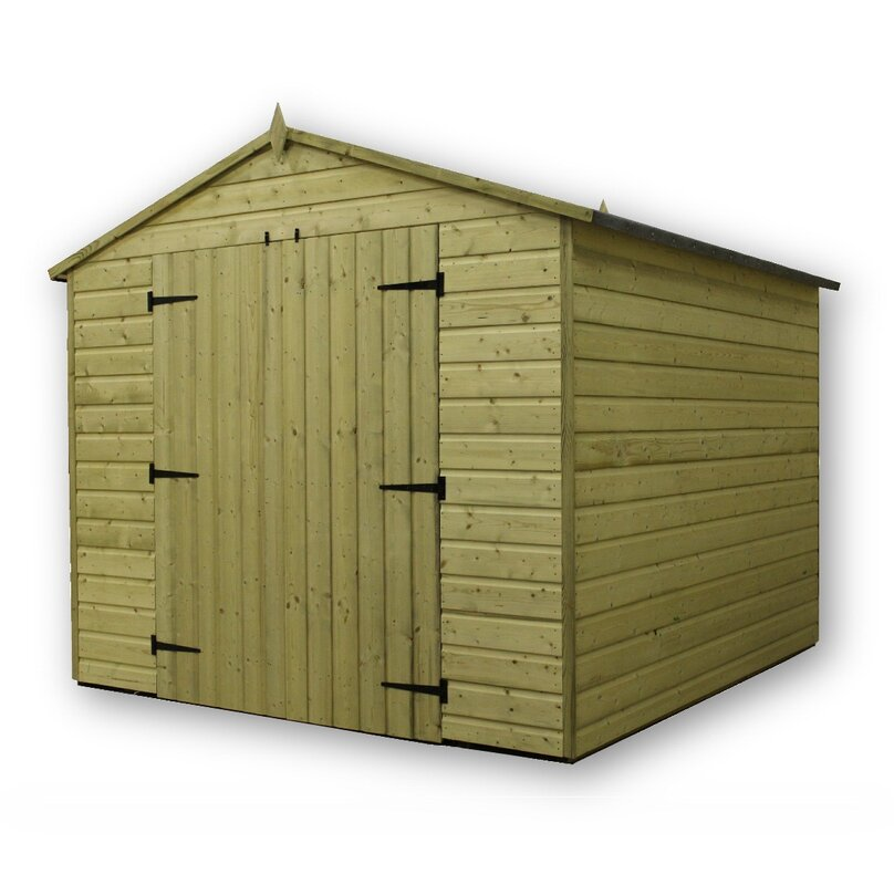 8 X 10 Wooden Storage Shed