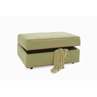 Storage Ottoman with Casters By Braxton Culler