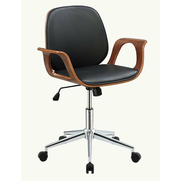 Komarek Modern Swivel Pneumatic Lift Executive Office Chair by Orren Ellis
