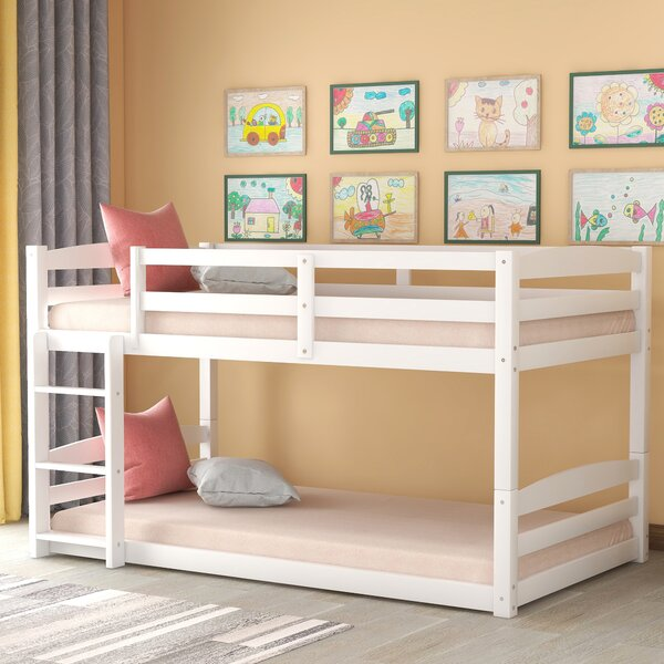 Tevis Twin over Twin Bunk Bed by Harriet Bee